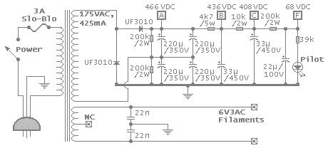 Power supply schematic image